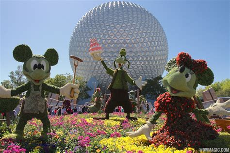 Epcot International Flower Garden Festival April At Epcot Social Media Strategy Planning Targeted Communications