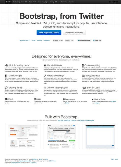 bootstrap tutorial wiki boostrap di twitter un framework css da provare subito