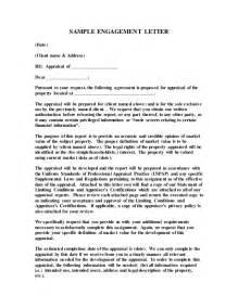 sample engagement letter