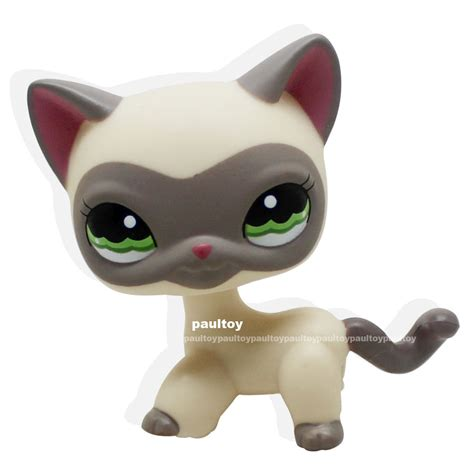 littlest pet shop cat collection short hair cats youtube rare littlest pet shop cream gray masked short hair cat