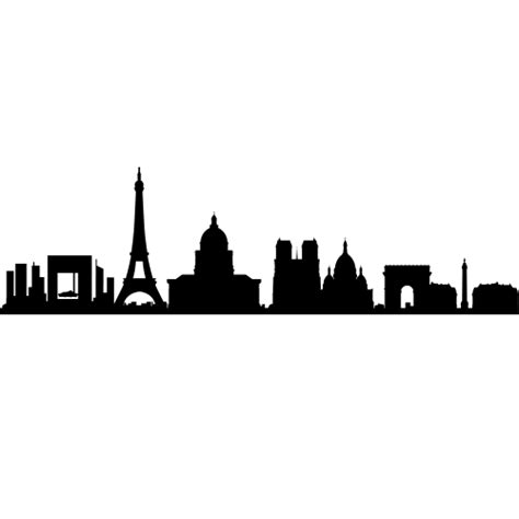 Hockey Wall Stickers paris france skyline decals wall decor paris france