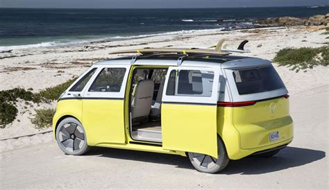 volkswagen electric bus volkswagen is remaking the classic vw bus the inertia