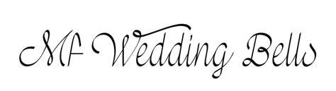 Wedding Bell Font by Mf Wedding Bells Font