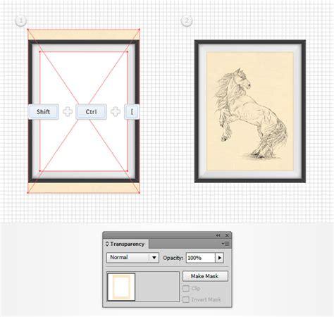 tutorial vector frame present your artwork in a vector frame in adobe illustrator