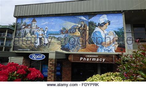 Wall Murals Vancouver Island Chemainus Vancouver Island Bc Columbia Canada