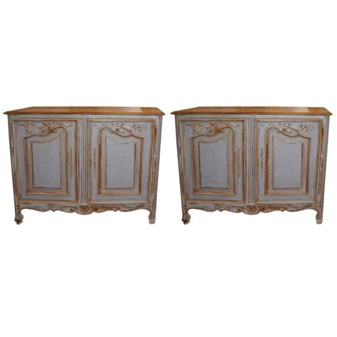 Epoch Furniture by Pair Of Epoch Painted Buffets At 1stdibs