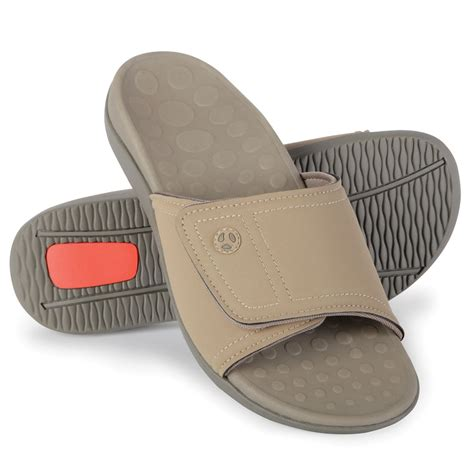 orthotics for sandals the plantar fasciitis orthotic slide sandal hammacher