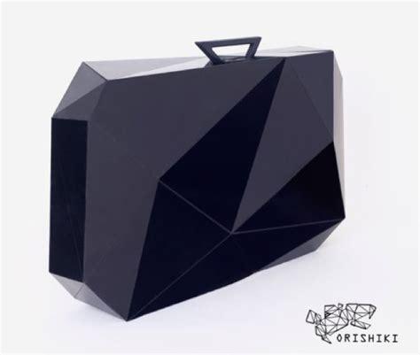 the origami suitcase