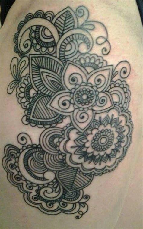 upper leg tattoo mandala mandala thigh tattoo tattoos pinterest mandala thigh