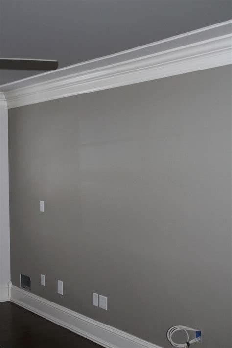 grey paint wall wall color pewter tankard by sherwin williams home