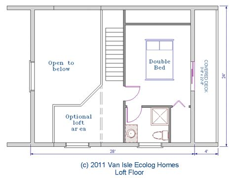 2 bedroom log cabin plans with loft studio design