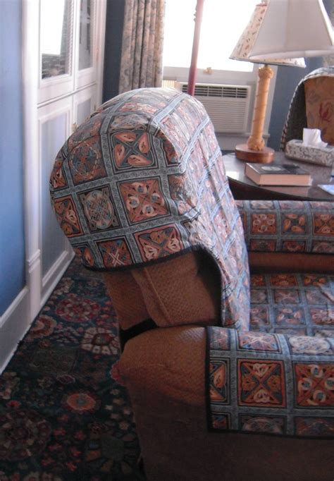 how to make a recliner slipcover quilted recliner slipcover thing