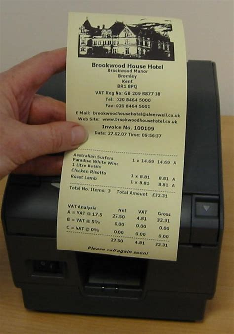 80mm receipt template direct thermal receipt paper
