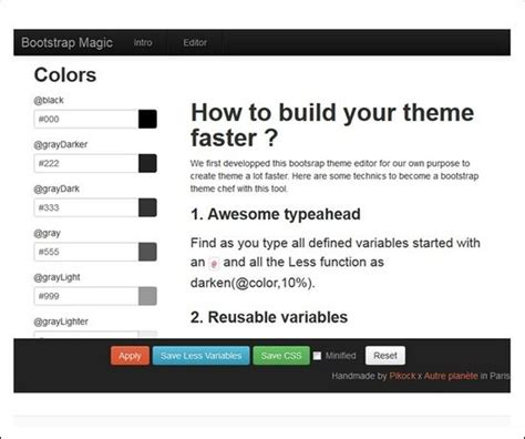 tutorial bootstrap magic 9 best bootstrap exles parts images on pinterest