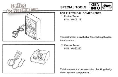 yamaha bw350 specs wiring diagrams repair wiring scheme