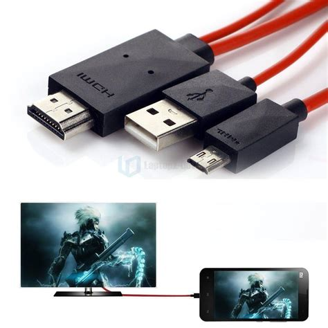 Micro Usb To Hdmi 1080p Tv Hd Samsung Galaxy Note 432 S3s5s5 1080p mhl micro usb to hdmi hd tv cable adapter for