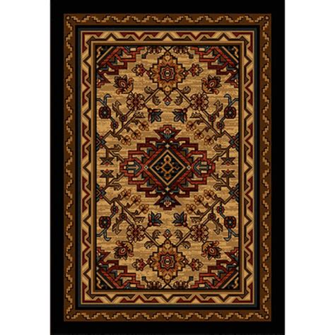 Rustic Cabin Rugs by Kindred Spirit Quot Maplewood Quot Rustic Rug