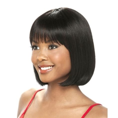 hairstyle cap weaves its a cap weave human hair wig hh damia short hairstyle 2013
