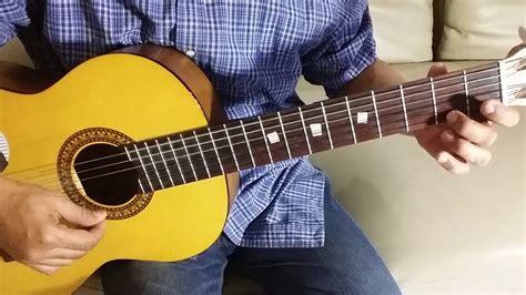 tutorial bermain gitar fingerstyle nyiur hijau tanah airku tumpah daraku r maladi