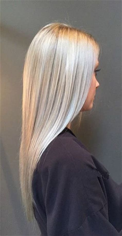 silvery blonde highlights seriously obsessed with this silver blonde hair color