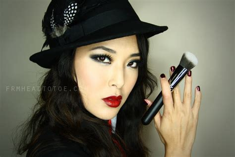 womens gangsta are hair do quot gangster quot smoky eye for any costume makeup hair