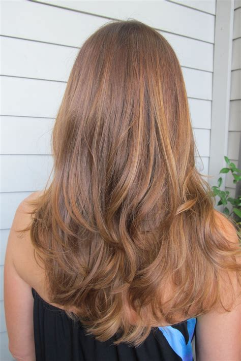 add warmth to blonde love it warm brunette color for fall hair pinterest
