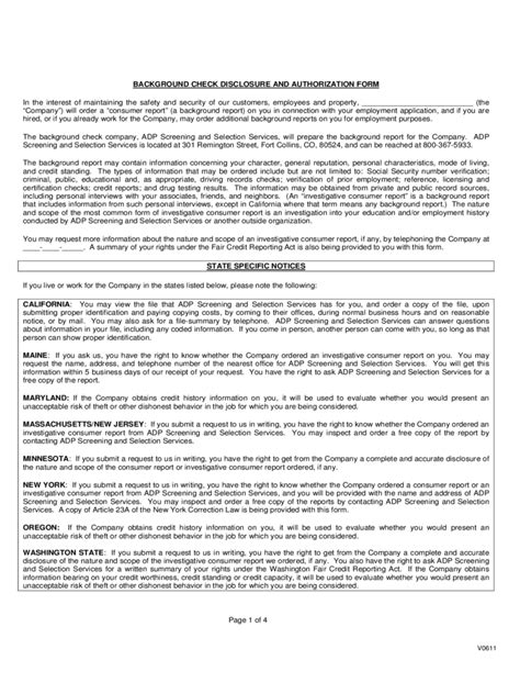 Background Check Authorization Form Sle Authorization Letter Background Check 28 Images