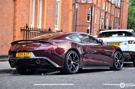 Purple Aston Martin by Aston Martin Vanquish 2013 5 August 2014 Autogespot