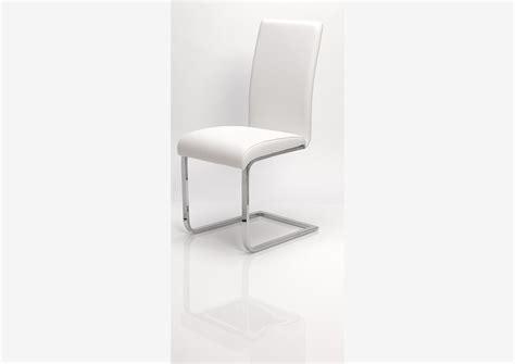 chaise pvc acheter votre chaise contemporaine en pvc moka chez simeuble