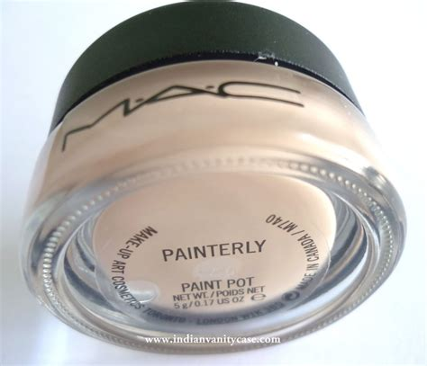 mac paint indian vanity mac painterly paint pot review swatches