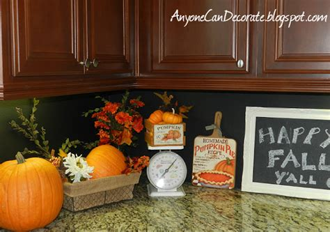 when should i decorate for fall anyone can decorate happy fall y all kitchen pumpkin decor