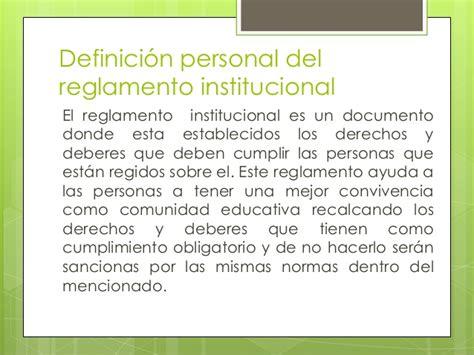 Diseño Curricular Institucional Definicion Reglamento Estudiantil Upc