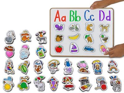 alphabet picture magnets  lakeshore learning