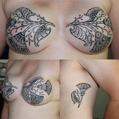 tattoo cover up on breast we all have scars in different places this beautiful