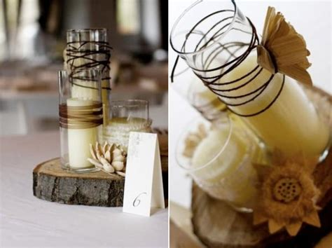 diy country wedding decorations diy rustic wedding centerpieces once wed