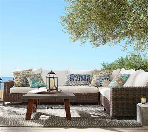 pottery barn outdoor sofa pottery barn outdoor furniture 60 sale furniture