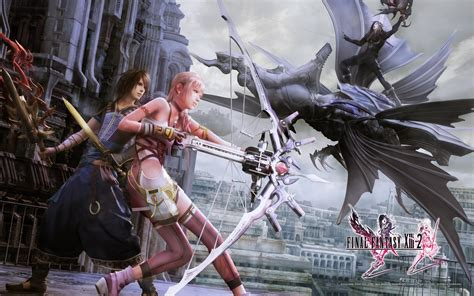 final fantasy xiii  wallpapers lightning serah noel mog