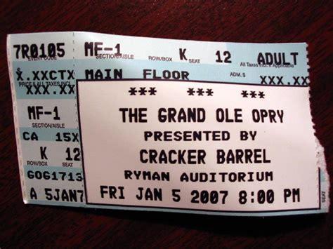 grand ole opry tickets grand ole opry ryman auditorium nashville tennessee