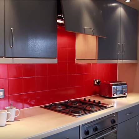 can i paint melamine kitchen cabinets paint for kitchen tiles one coat tile paint ronseal gh