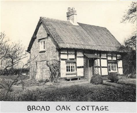 Cottages Broad by Broad Oak And Knutsford Road Mobberley One Place
