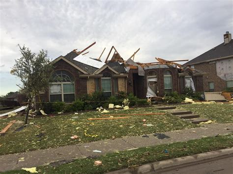 relief efforts in progress for rockwall subdivision hit by