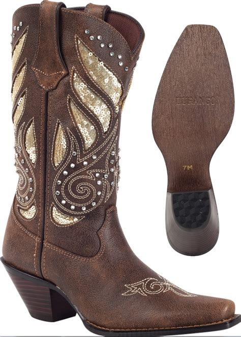 durango boots crush s bling leather western