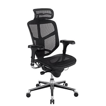 workpro chairs workpro quantum 9000 mesh chair black office depot