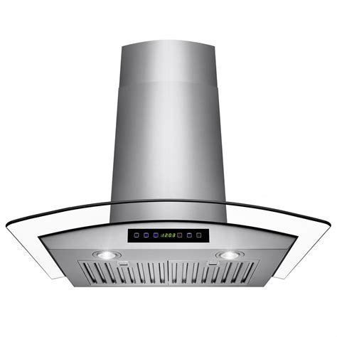 wall range akdy 30 in convertible wall mount range in stainless