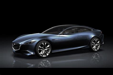 mazda new car mazda shows shinari four door sports coupe concept