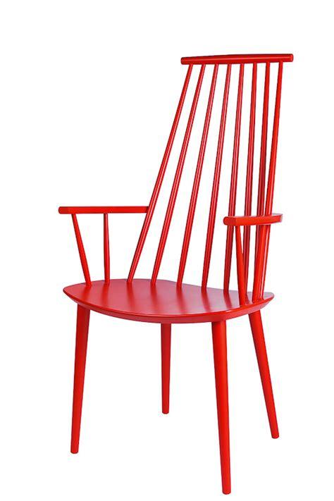 roter stuhl möbel roter stuhl hay auf deco de