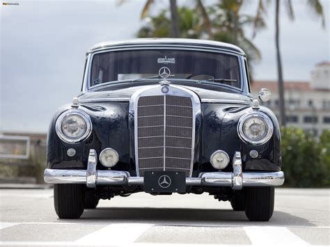 mercedes 300c station wagon by binz 1956 pictures
