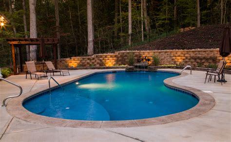 Backyard Pools Nc Swimming Pools Huntersville Nc Lake Norman Signature