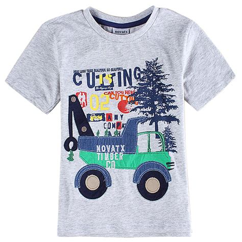 shirts for toddlers gray boys clothes 3d printed t shirt boys children t