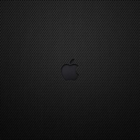 wallpaper apple leather black leather apple logo 1024x1024 wallpapers 1024x1024